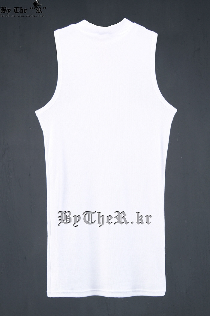 ByTheR Turtle Neck Sleeveless Tank Top