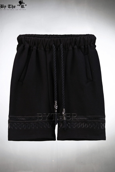 ByTheR Embroidered Cotton Shorts