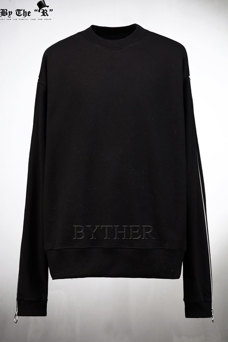 Extra Long Zipper Sleeve Sweatshirts
