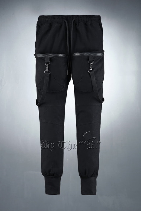 Techwear Clip Strap Weaving Jogger Pants