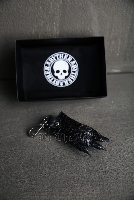 ByTheR Foot Detail Leather Keyring