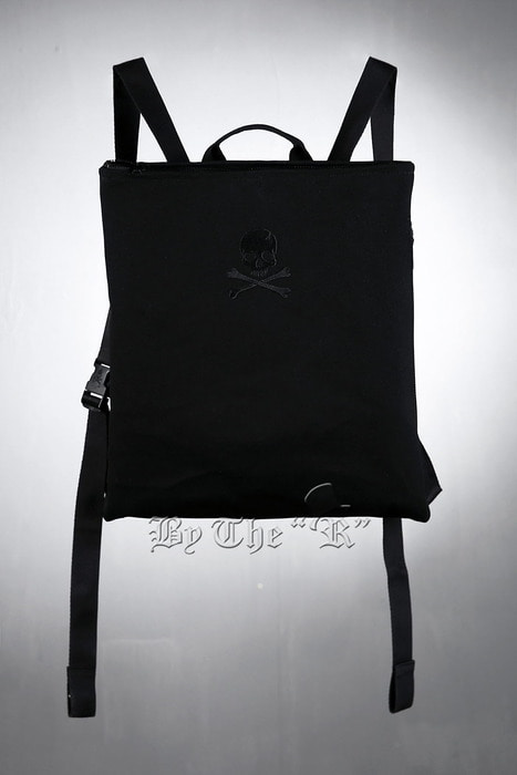 ByTheR Skull Embroidered Backpack
