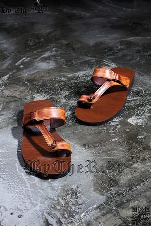 Classic Indian Style Unique Brown Flip Flop Sandal Slipper Shoes