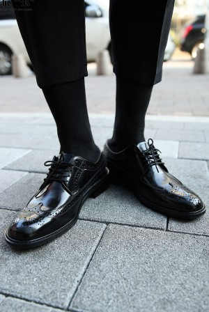 Modern Classic Formal Dress Neat Classy Look Regal Wingtip Shoes