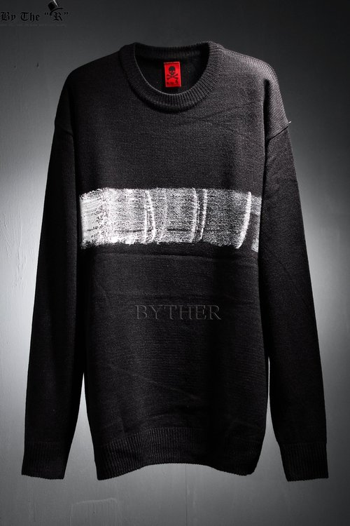 ByTheR Horizontally Painted T-Shirt