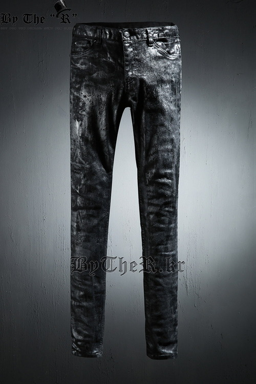 ByTheR Black Painted Jean