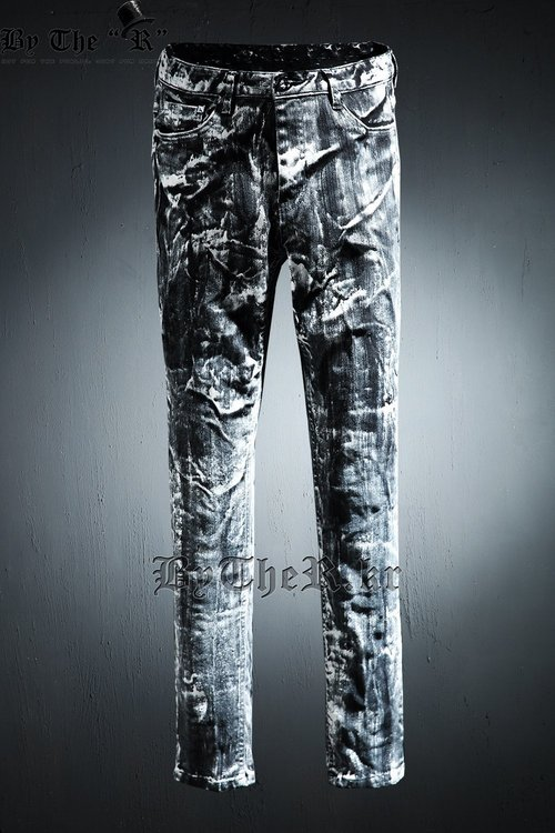 ByTheR White Vintage Jeans