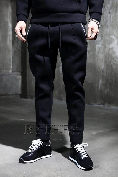 Pocket Zip Jogger Pants