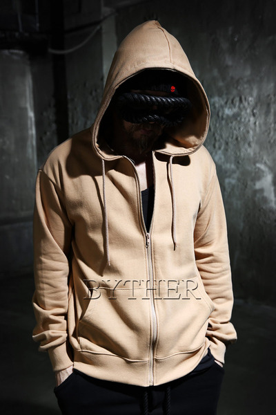 Basic Cotton Zip-up Hoodie