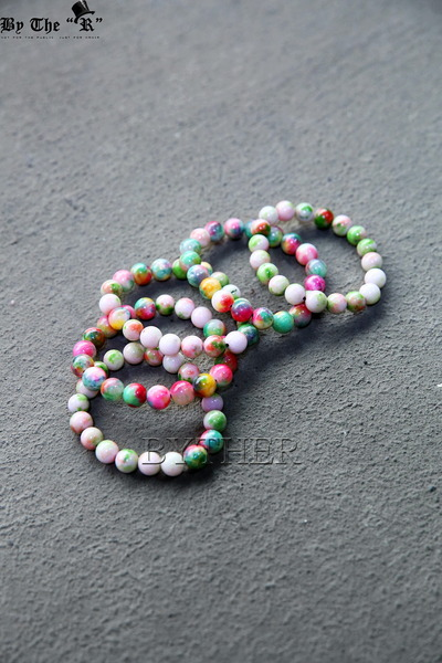 Colorful Candy Stone Bracelet