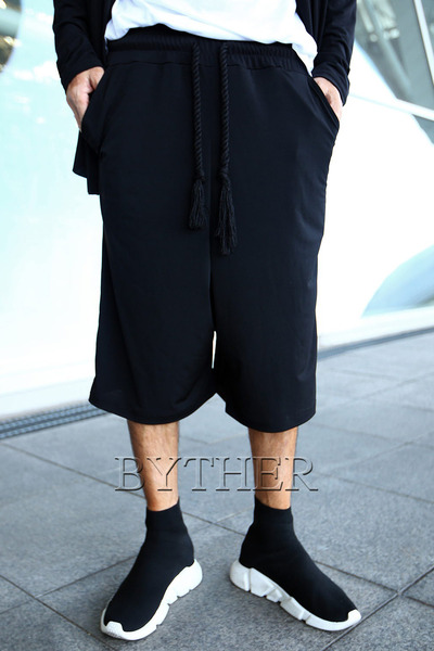 ByTheR Cool Span Cropped Wide Pants