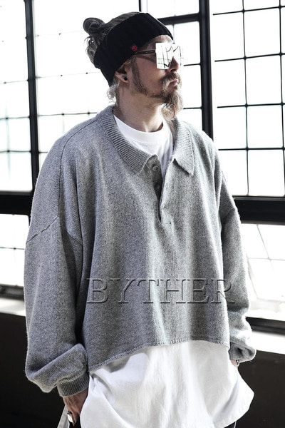 ByTheR Over-sized Knit Shirts