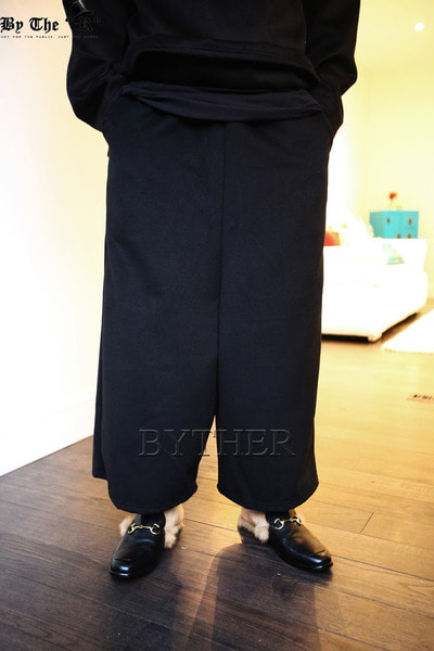 ByTheR Banding Wide Pants