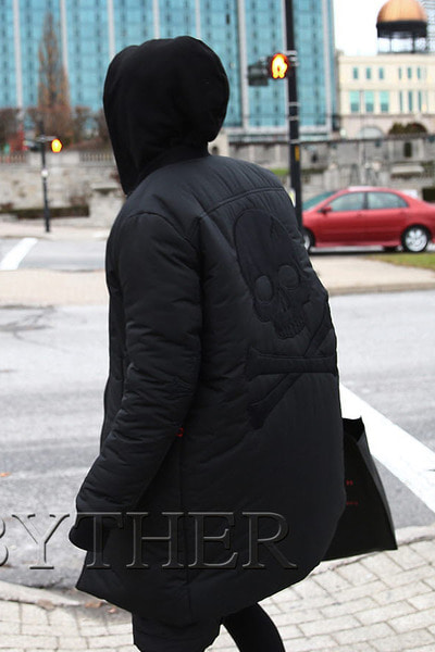 ByTheR Black Skull Jacket
