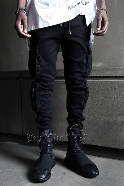 Stair Cargo Double Pocket Jogger Pants