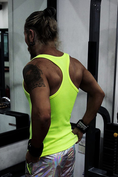 MB Mango Neon Color Tank Top