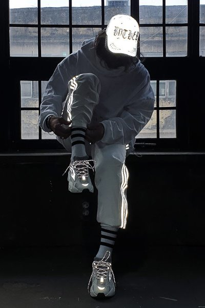 Side Line Scotch Reflective Track Pants