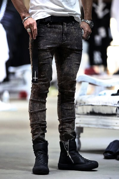 ByTheR Real Fully Bleached Skinny Jeans