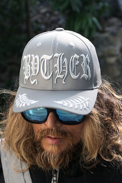 ByTheR Lettering Embroidery Reflective Cap