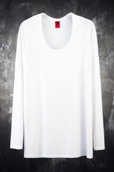 ByTheR Loose U Neck T-Shirts