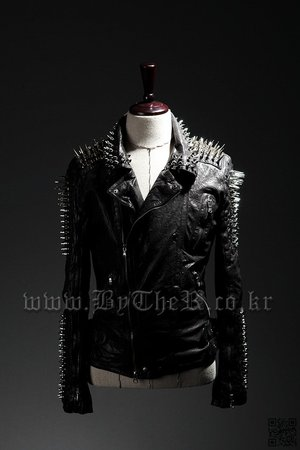 ByTheR Custom Stud Rider Jacket